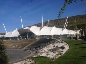 Our Dynamic Earth, venue for UX Scotland