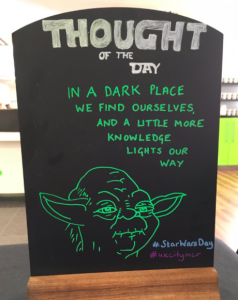 Thought of the Day Yoda image